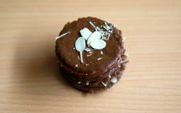Taro αμυγδάλων Choco τριζάτο Στοκ φωτογραφία με δικαίωμα ελεύθερης χρήσης