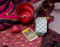 Taro κάρτες στοκ εικόνες με δικαίωμα ελεύθερης χρήσης