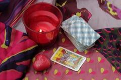 Taro κάρτες στοκ εικόνες