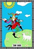 Taro καρτών πλακατζών Στοκ Εικόνες