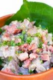 Taro Bacon Hash photo stock