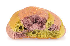 Taro bread with sesame Royalty Free Stock Photography