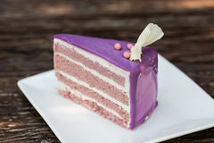 Taro Cake Photographie stock