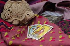 Taro Cards Imagens de Stock