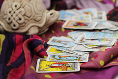 Taro cards Royalty Free Stock Photo