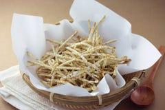 Taro chips Stock Image
