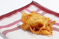 Taro Fritter Stock Image