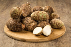 Taro ou 'batata doce' Imagens de Stock Royalty Free