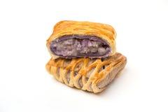 Taro Pie isolated Stock Photography