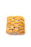 Taro Pie isolated. On white background Stock Images