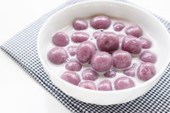 Taro rice ball Royalty Free Stock Photo