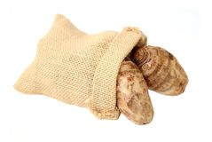 Taro root Royalty Free Stock Images