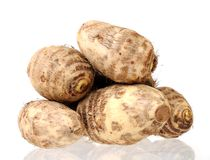 Taro roots Royalty Free Stock Photos
