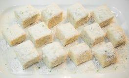 Taro sweet is dessert Stock Photography