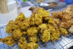 Tarochiper i marknad Royaltyfri Foto