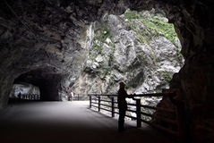 Taroko Gorge –Tunnel of NineTurns Stock Photography