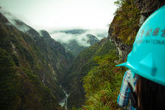 Taroko Gorge. A photo of the Taroko Gorge from the Zhui lu old trail Stock Photos