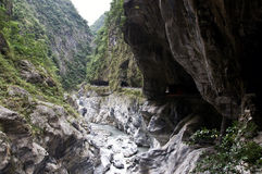 Taroko Gorge, Taiwan Royalty Free Stock Photos