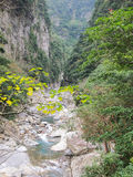 Taroko klyfta, Hualien, Taiwan Arkivfoton