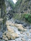 Taroko klyfta, Hualien, Taiwan arkivbilder