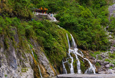 Taroko National Park Waterfall Royalty Free Stock Photography