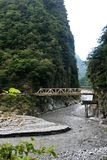 Taroko nationaler Forest Park in Taiwan Stockfotos