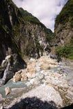 Taroko nationalpark Taiwan Royaltyfria Bilder