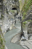taroko taiwan gorge Стороны реки и горы Стоковая Фотография RF