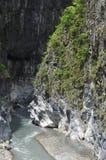 taroko taiwan gorge Стороны реки и горы Стоковая Фотография