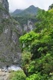 taroko taiwan gorge Стороны реки и горы Стоковое фото RF