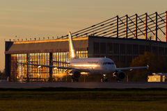 Tarom Airbus 318 Lizenzfreies Stockbild