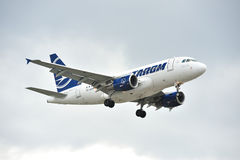 Tarom Airbus A318 Royalty Free Stock Photos