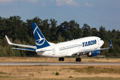 Tarom Airlines Boeing 737-700 Stock Photography