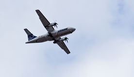 Tarom airplane Stock Photo