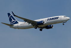 Tarom Romanian Air Transport. Is the flag carrier of Romania. Currently with a fleet of 26, serves destinations in Europe, Africa and the Middle East. In 2010 Stock Photos