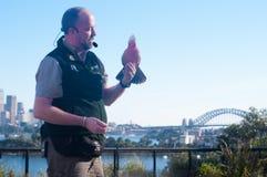 Taronga zoo Sydney Fotografering för Bildbyråer