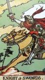 Tarot чешет волшебство Divination оккультное стоковое изображение