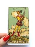 Tarot чешет волшебство Divination оккультное стоковое изображение rf