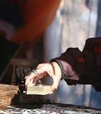 tarot читателя карточки Стоковая Фотография
