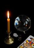 Tarot Royalty-vrije Stock Foto's