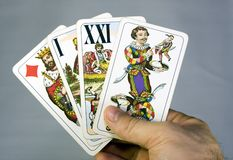 Tarot Royalty Free Stock Photography