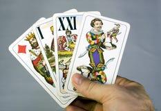 Tarot Fotografía de archivo libre de regalías