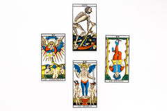 Tarot card bad draw Royalty Free Stock Photo