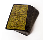 Tarot. Card divination magic prediction Stock Photo