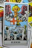 Tarot Card - Judgement Spanish El Juicio Royalty Free Stock Images