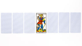 Tarot card matt draw Royalty Free Stock Image