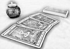 Tarot Card Reading stock image