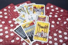 Tarot cards stock image