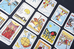Tarot cards Stock Photos