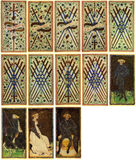 Tarot Cards - Arcanum Royalty Free Stock Photos